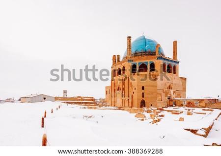 Soltaniyeh, Soltaniyeh District of Abhar County, Zanjan Province, Iran. UNESCO World Heritage - stock photo
