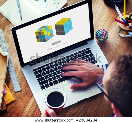 Solving Solution Decision Ideas Method Strategy Concept - stock photo