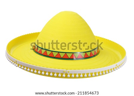Sombrero on White Background
