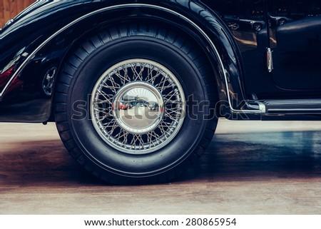 Some antique classic car. - stock photo