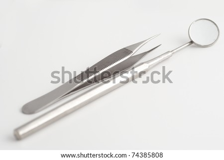 some dental devices - stock photo