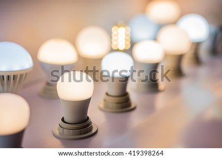 some led lamps science and technology background