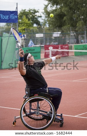 Some of the best performer were in this court for playing tennis - stock photo