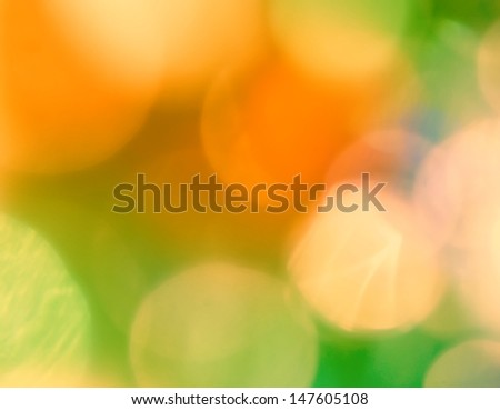 Some pastel multicolored spots of light. - stock photo