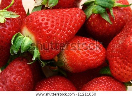 Some strawberries