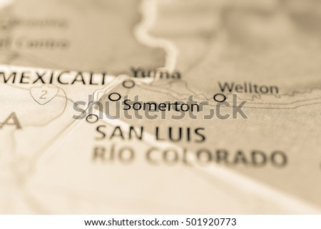 Somerton, Arizona, USA.