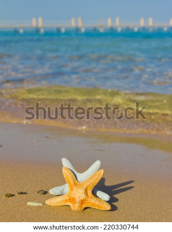 Somewhere in the Caribbean  - stock photo