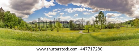 Sommerwiese - stock photo