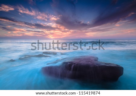 Soon to be Submerged - stock photo