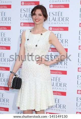 Sophie Ellis Bextor arriving for the launch party for the Fashion Rules exhibition, Kensington Palace, London. 04/07/2013 - stock photo