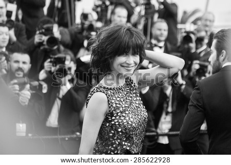 Sophie Marceau. Opening Ceremony 'La Tete Haute' Premiere. 68th Annual Cannes Film Festival at Palais des Festivals on May 13, 2015 in Cannes, France. - stock photo