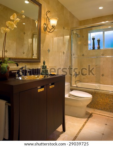 Sophisticated Bathroom
