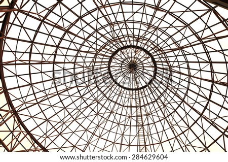Sophisticated structure - stock photo