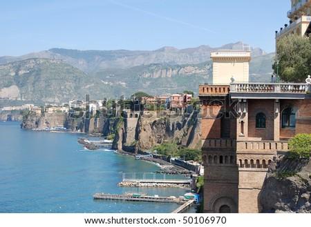 Sorrento, Italy - stock photo