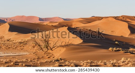 Sossusvlei, Namibia - stock photo