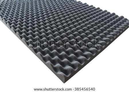 Sound absorbing sponge, damping sponge - stock photo