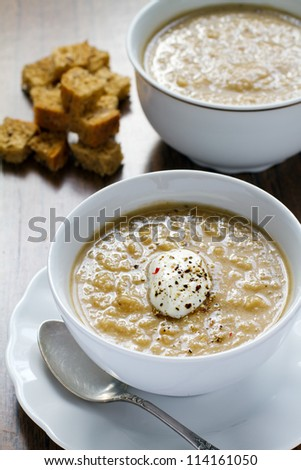soup from eggplants
