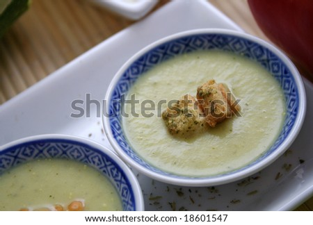soup of zucchinis