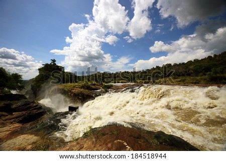 source of the Nile - stock photo