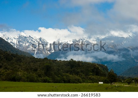 Sourthern Alps New Zealand