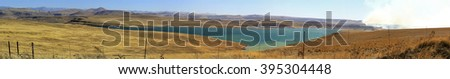 south africa freestate landscape - stock photo