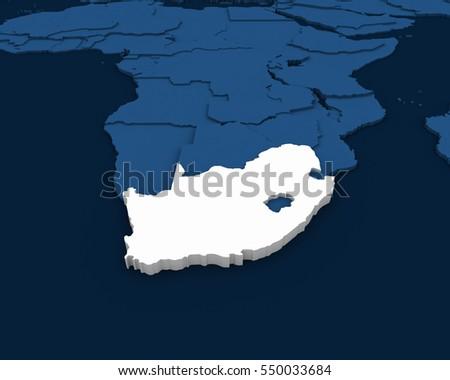 Africa Map 3d Stock Images RoyaltyFree Images Vectors