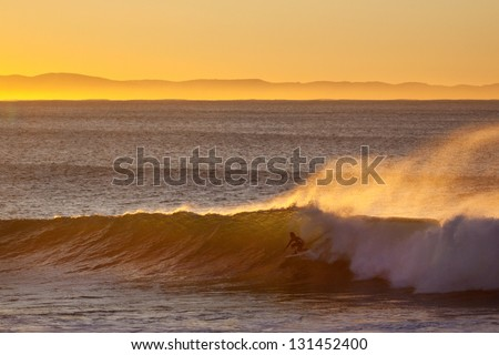 South African Surfing / waves culture - stock photo