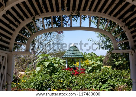 South Coast Botanic Garden In Beautiful Palos Verdes Peninsula, California