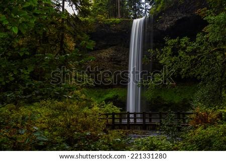 South Falls - stock photo