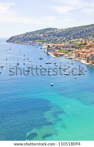 South of France - stock photo