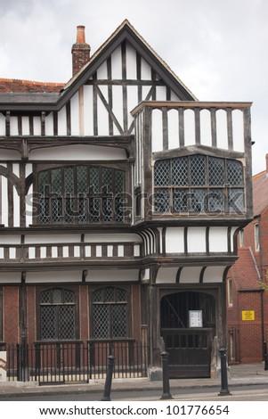 Southampton Tudor house - stock photo
