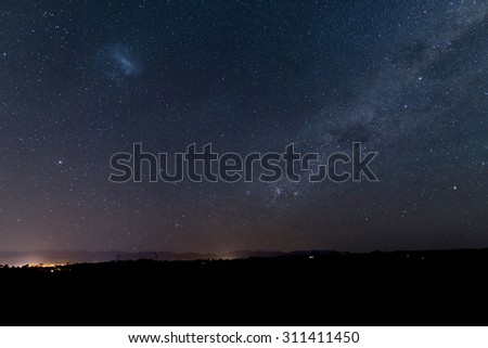 southern starlight - stock photo