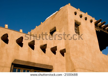 Adobe house stock images royalty free images vectors for Southwest architecture