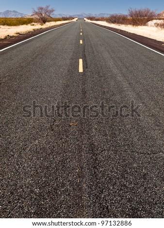 Southwest Landscape - stock photo