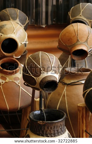 Southwestern pottery - stock photo