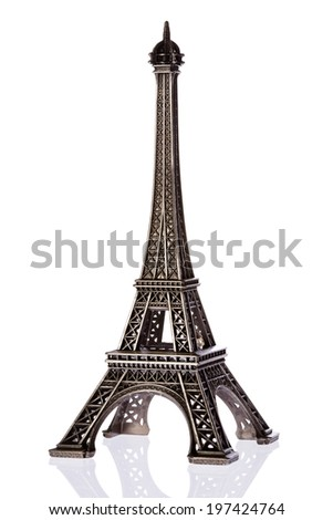 Souvenir from Paris  - stock photo