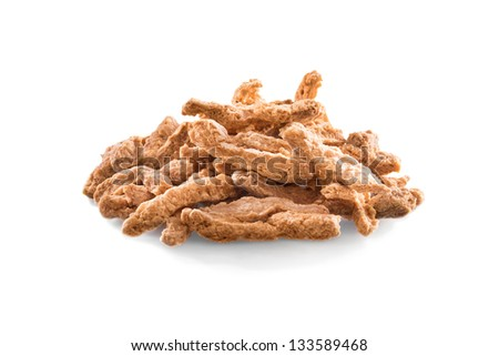 Soy meat stripes - stock photo