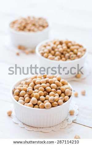 Soy pods