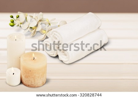 Spa. - stock photo