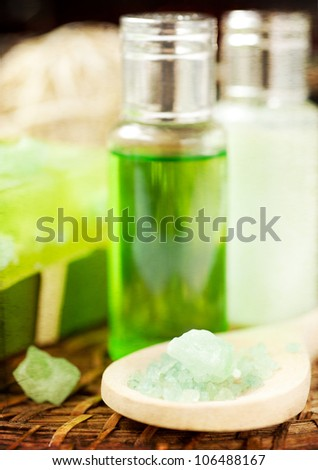 spa and aromatherapy set