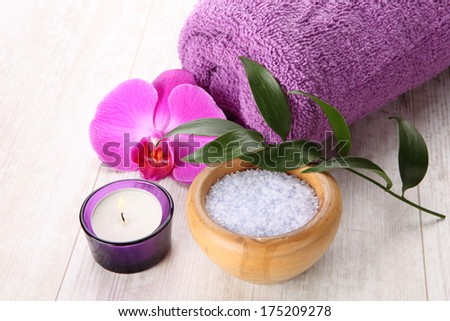 Spa and aromatherapy setting