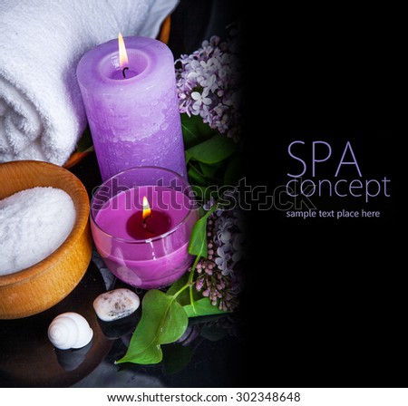 SPA background.