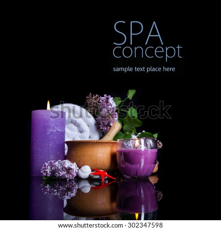 SPA background. Shallow DOF