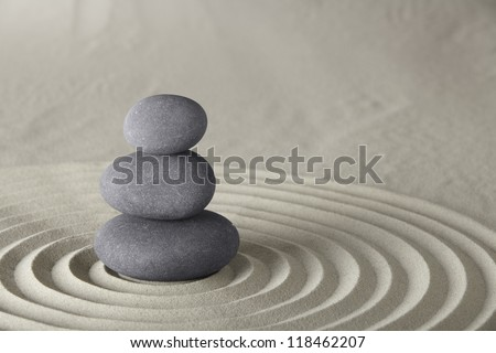 spa background stones balance in zen garden concept for spirituality meditation concentration and relaxation