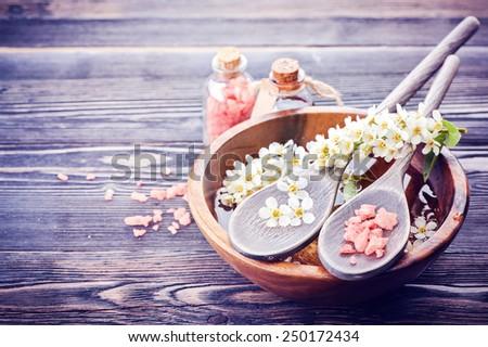 Spa, body care - stock photo