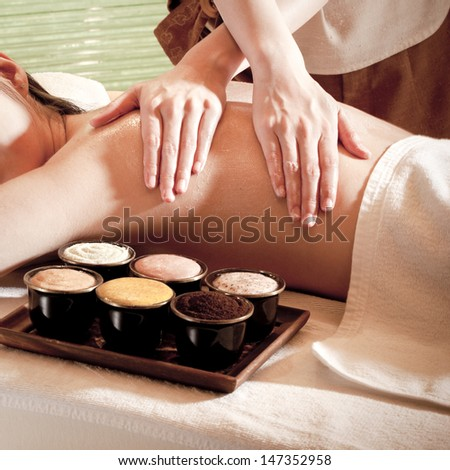 Spa Concept. - stock photo