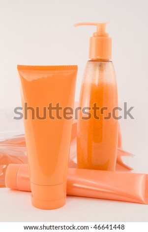 Spa cosmetics collection - stock photo