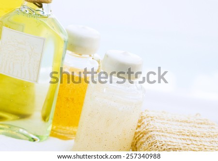 SPA cosmetics series - stock photo