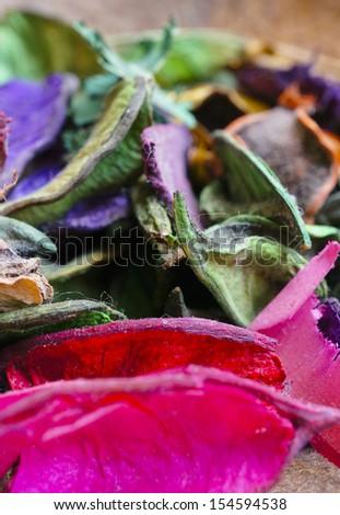 Spa Dried Flower - stock photo