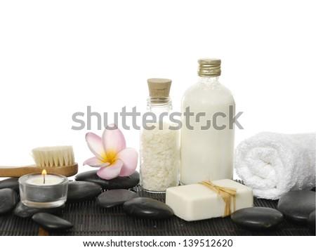 Spa elements - stock photo